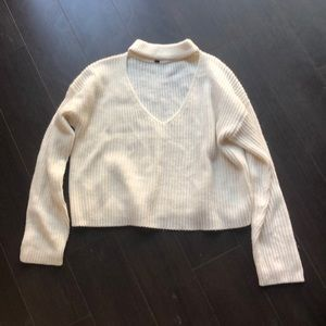 H&M Sweaters - H&M sweater with cutout neck- M